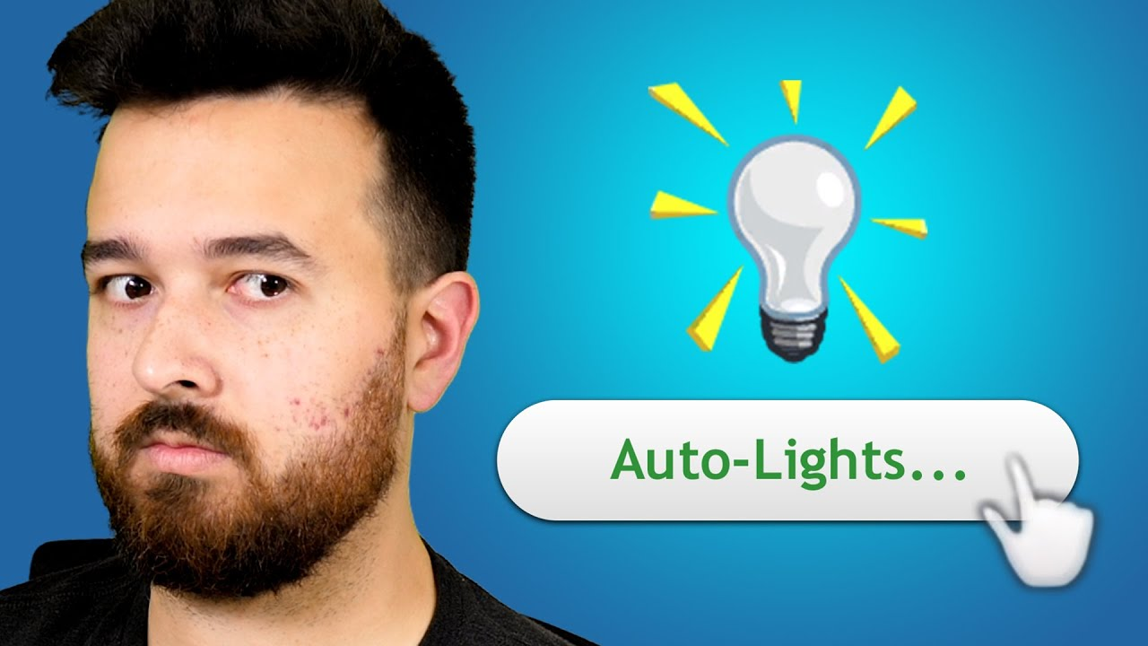 Turn on your Auto-Lights