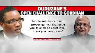 Duduzane's open challenge to Gordhan