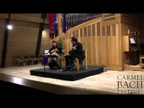 video:Mandolinists Mike Marshall and Caterina Lichtenberg