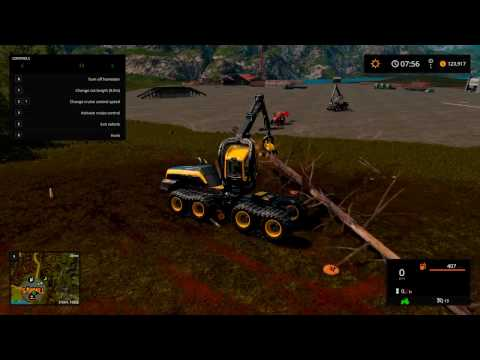 FS17 CLEARING THE MAP OF TREES