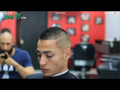 Faux Hawk Fade Haircut Using Wahl Clippers