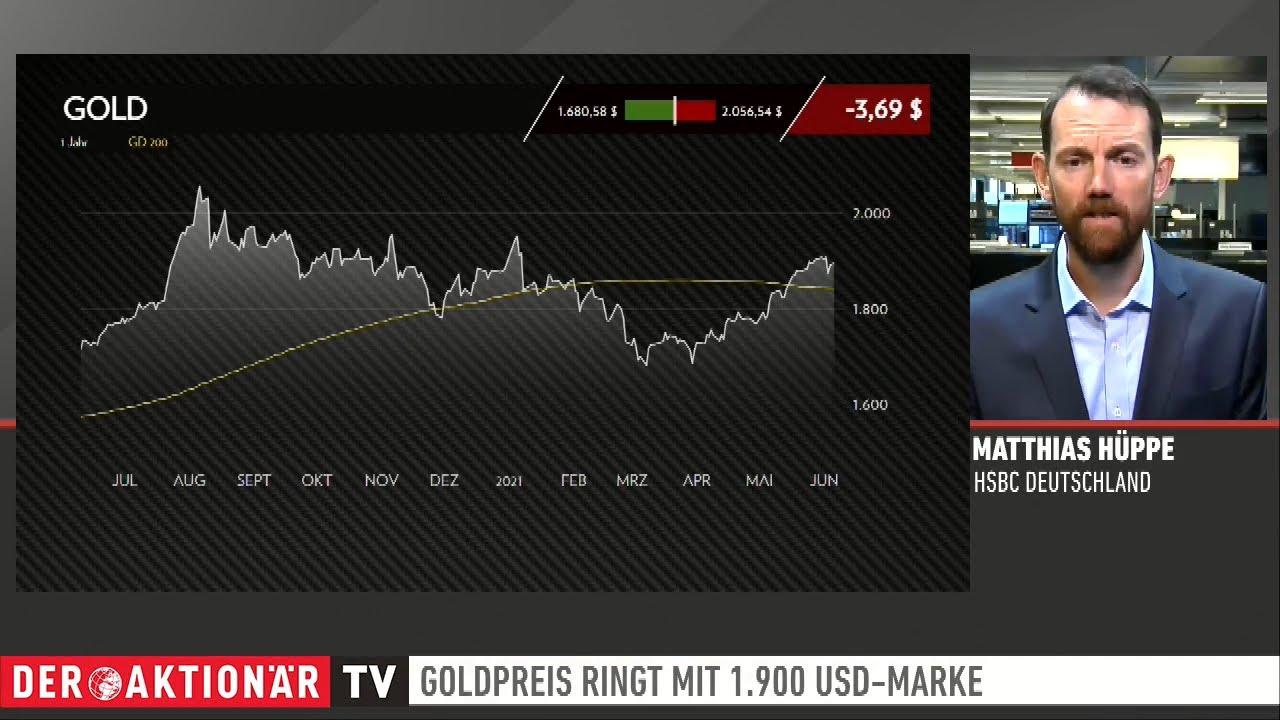 Inflation, schwacher Dollar & Co.: Trotzdem  in Gold investieren? -Zertifikate Aktuell vom 10.6.2021
