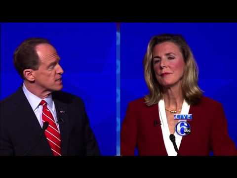 Pat Toomey and Katie McGinty Face Off in Final PA Senate Debate