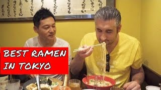 RAMEN NOODLES | Top Ramen in Tokyo | Ramen Restaurant feat TabiEats