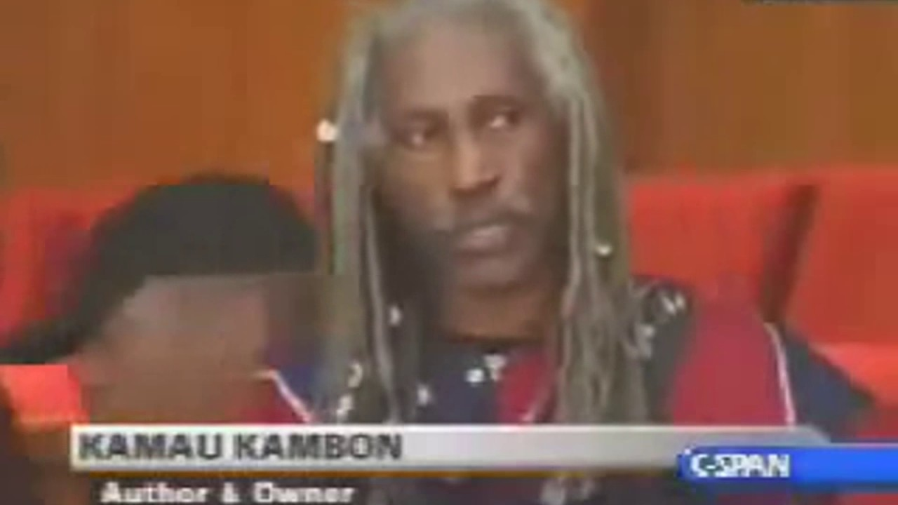 Dr. Kamau Kambon advocated EXTERMINATING all white people (on C-SPAN in 2005)