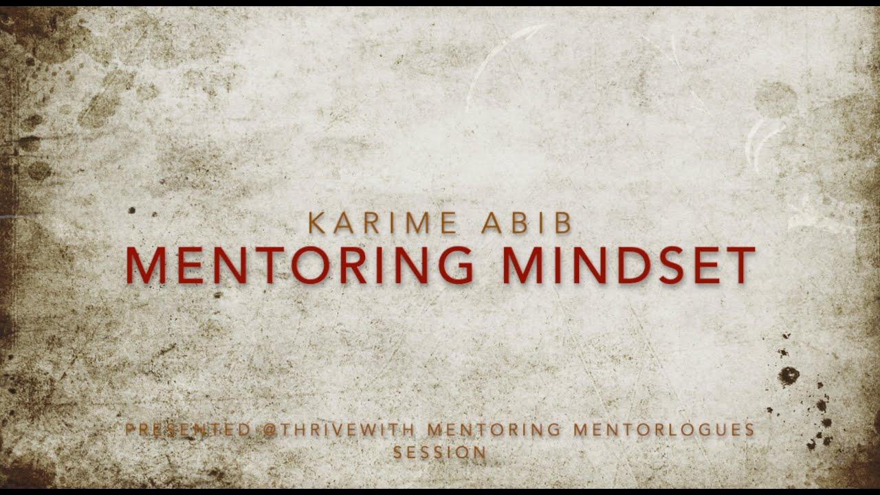 Mentoring Mindset (edited)