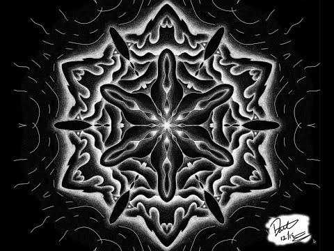 Time-lapse Drawing (Photoshop Mandala Tool)