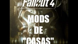 FALLOUT 4 -MODS DE CASAS-  FALLOUTSHOCK APARTMENT, TREEHOUSE, CASA CABOT