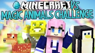 Magical Animals Challenge | Modded Minecraft VS.