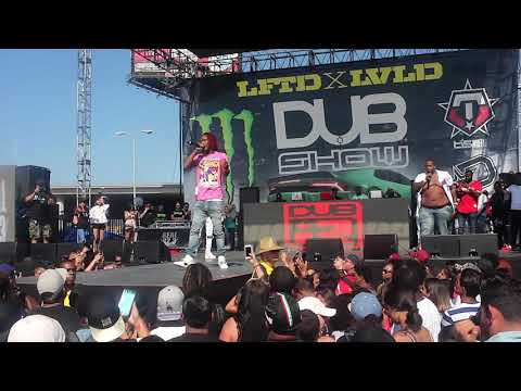 Fetty Wap Performing At Dub Car Show LA 2017