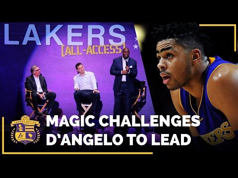 Magic Johnson Challenges D'Angelo Russell To Lead
