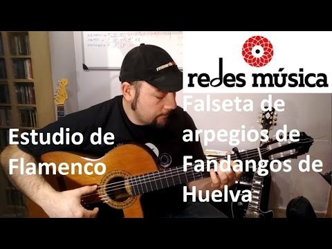 Estudio de Flamenco con falseta de Fandango de Huelva