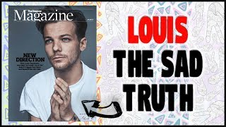 Louis' Interview with the Observer Magazine | Sad