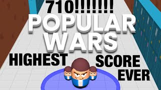 Popular Wars Game Highest Score Ever!!!
