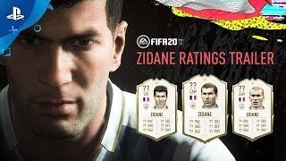 『FIFA 20』 Zinedine Zidane FUTアイコン ストーリー公開
