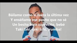 DJ Snake - Taki Taki (ft. Cardi B, Selena Gomez, Ozuna) (Lyrics)
