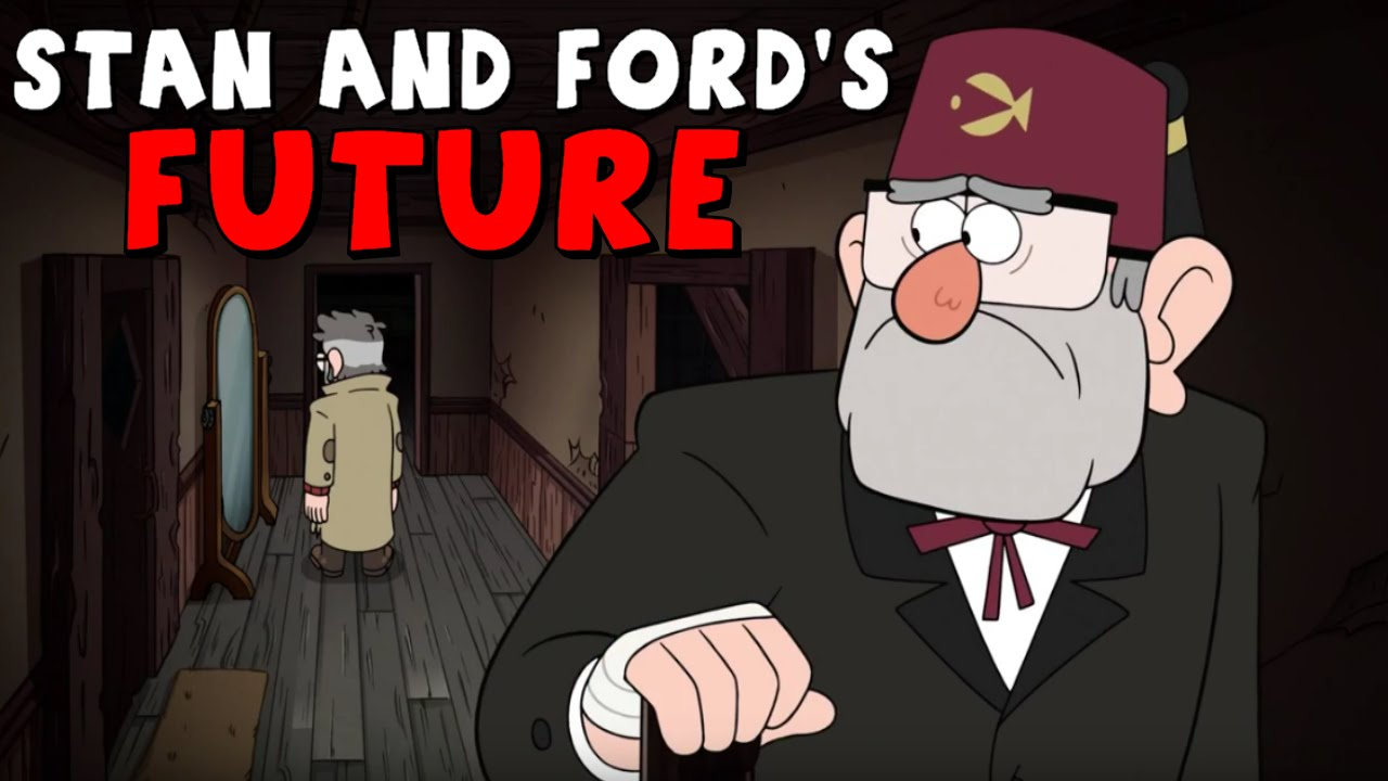 Gravity falls stan and ford s future secrets theories