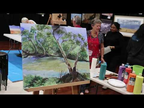Act-Belong-Commit Landscape Painting Workshop