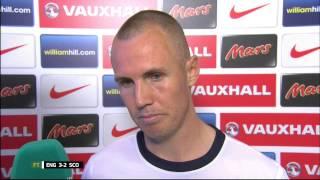 England 3-2 Scotland - Kenny Miller Post Match Interview