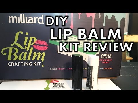 Milliard DIY Lip Balm Kit Review Ll Cat And Raven Designs