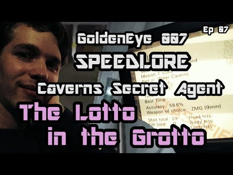 Caverns Secret Agent (GoldenEye 007 SpeedLore - Episode 07: The Lotto in the Grotto)