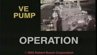 BOSCH VE-Pump Operation