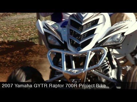 MotoUSA Project Bike 2007 Yamaha GYTR Raptor 700R