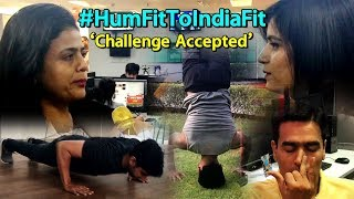 #HumFitTohIndiaFit: People Accept Fitness Challenge From Rathore | Sports Tak