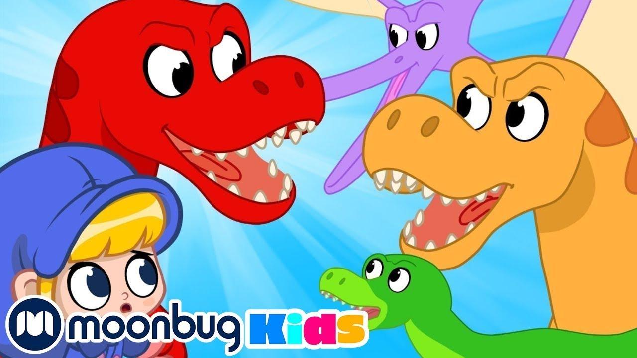 Die Dinosaurierräuber | Kinderlieder und Cartoons | Morphle | Moonbug Kids Deutsch