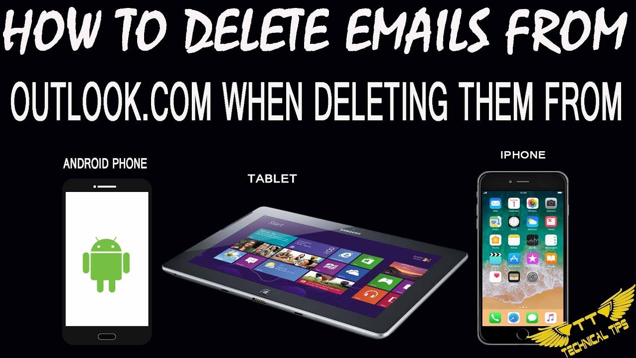how can i delete all emails on iphone 6