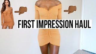 BOOHOO FIRST IMPRESSION TRY-ON HAUL! Lowkey a FAIL!