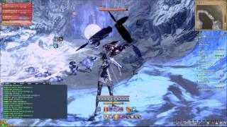 [Blade & Soul] Cave of Snowman (Party Play) - Warlock