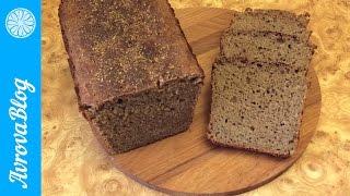 Самый простой рецепт черного хлеба на закваске / Simple recipe black bread at sourdough