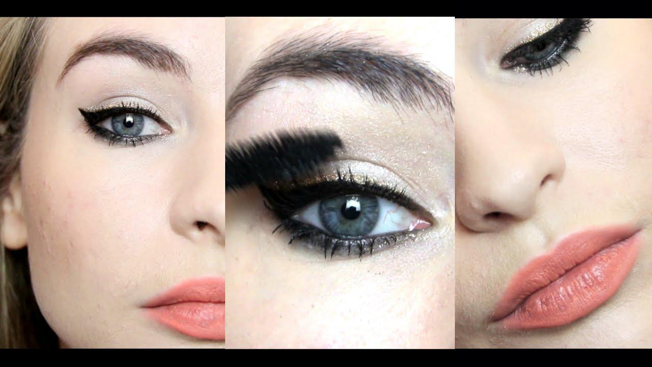 How to gold wear glitter eyeliner 2019