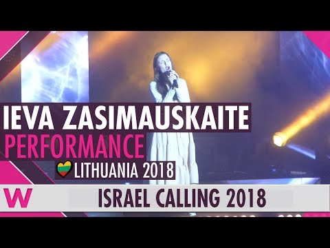 "Ieva Zasimauskaitė ""When We're Old"" (Lithuania) LIVE @ Israel Calling 2018"