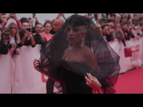 A STAR IS BORN: Lady Gaga Red Carpet Premiere Arrivals TIFF 2018