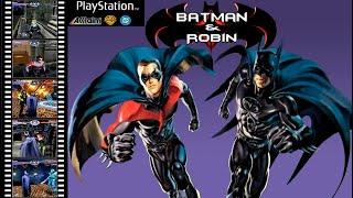 Batman & Robin [PSX] walkthrough part 1.