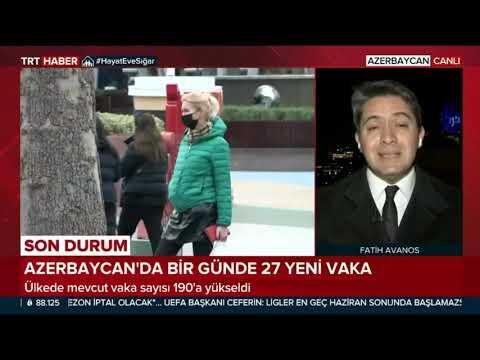 Azerbaycan Da Koronovirus Tehdidi SON DURUM