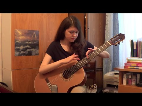 Ladies Night by Preston Reed (classical guitar) - Regina Bakhritdinova