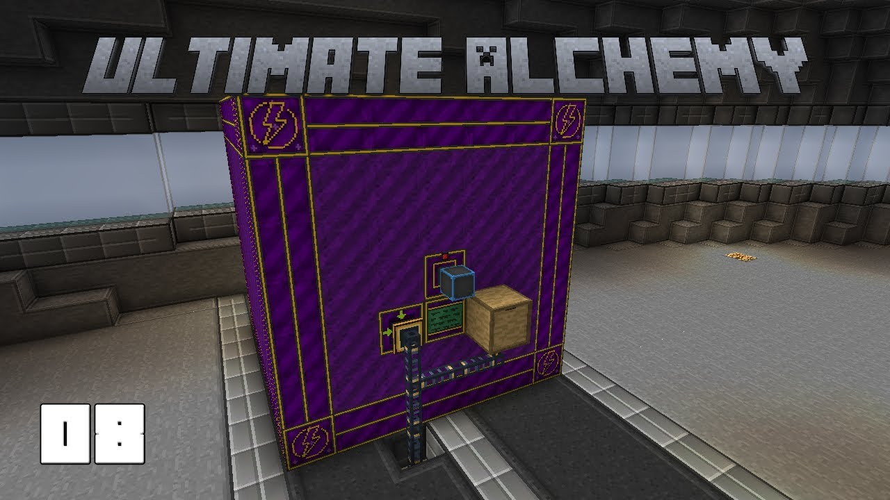 Ultimate Alchemy EP8 Yellorium Automation + Extreme Reactors