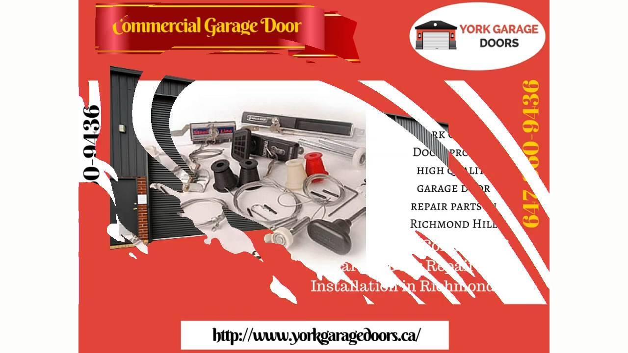 Garage Door Repair Richmond Hill Installation Maintenance