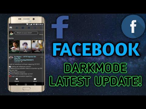 Facebook update 2019 dark mode