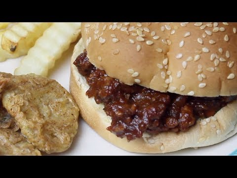 BBQ Sloppy Joe Sliders