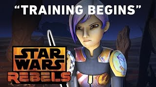 Repeat youtube video Training Begins - Trials of the Darksaber Preview | Star Wars Rebels