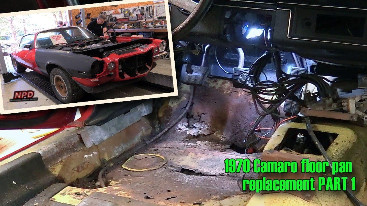 Part 1 1970 Camaro Floor Pan Replacement Episode 429 Autorestomod Youtube