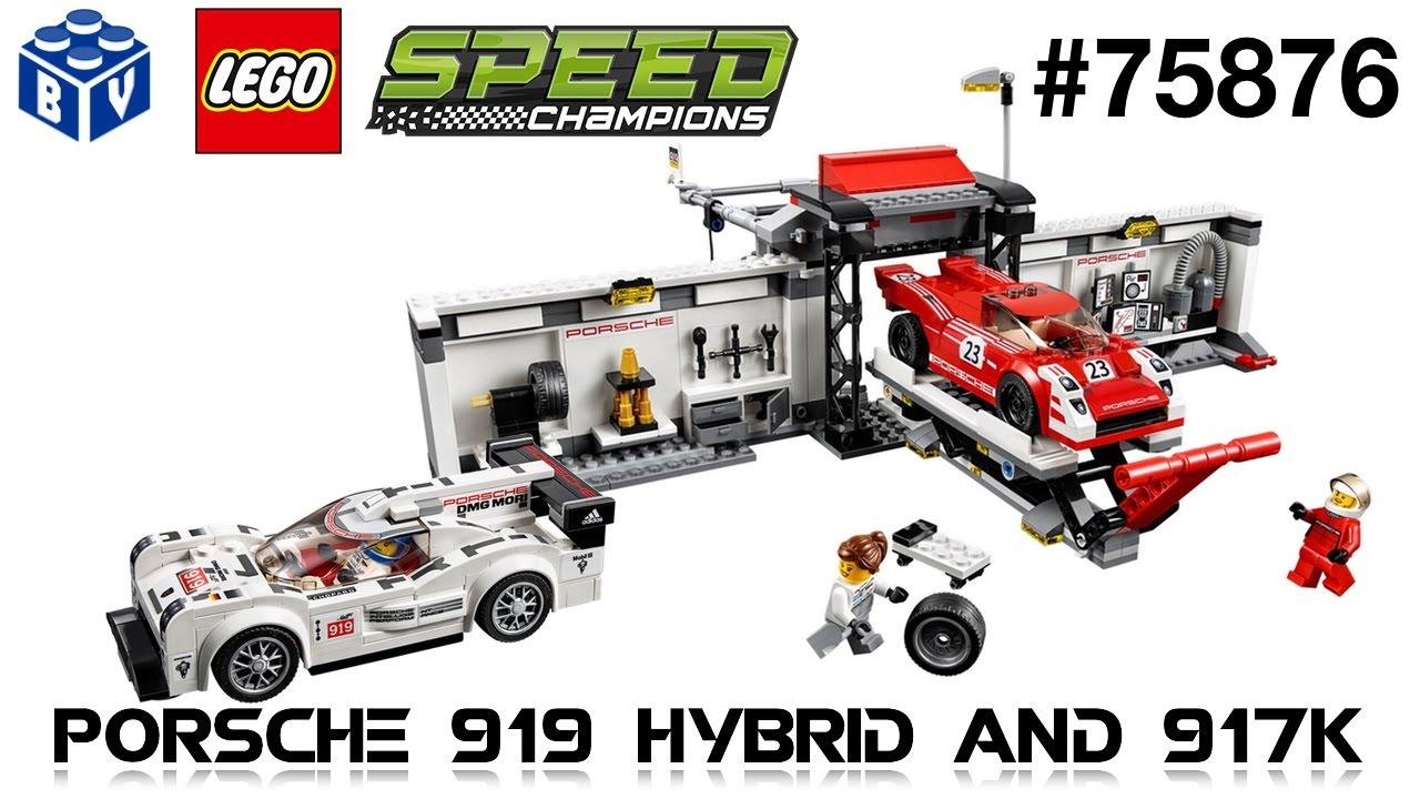 lego speed champions 75876 porsche 919 hybrid 917k pit. Black Bedroom Furniture Sets. Home Design Ideas