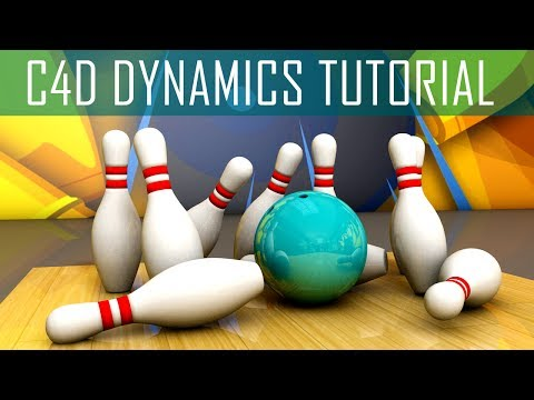 C4D Dynamics Simulation - Rigid Body, Soft Body, Collider Body Dynamics Tutorial
