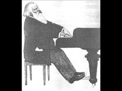 Brahms, Rhapsody in G minor Op. 79/2 played by Artur Schnabel