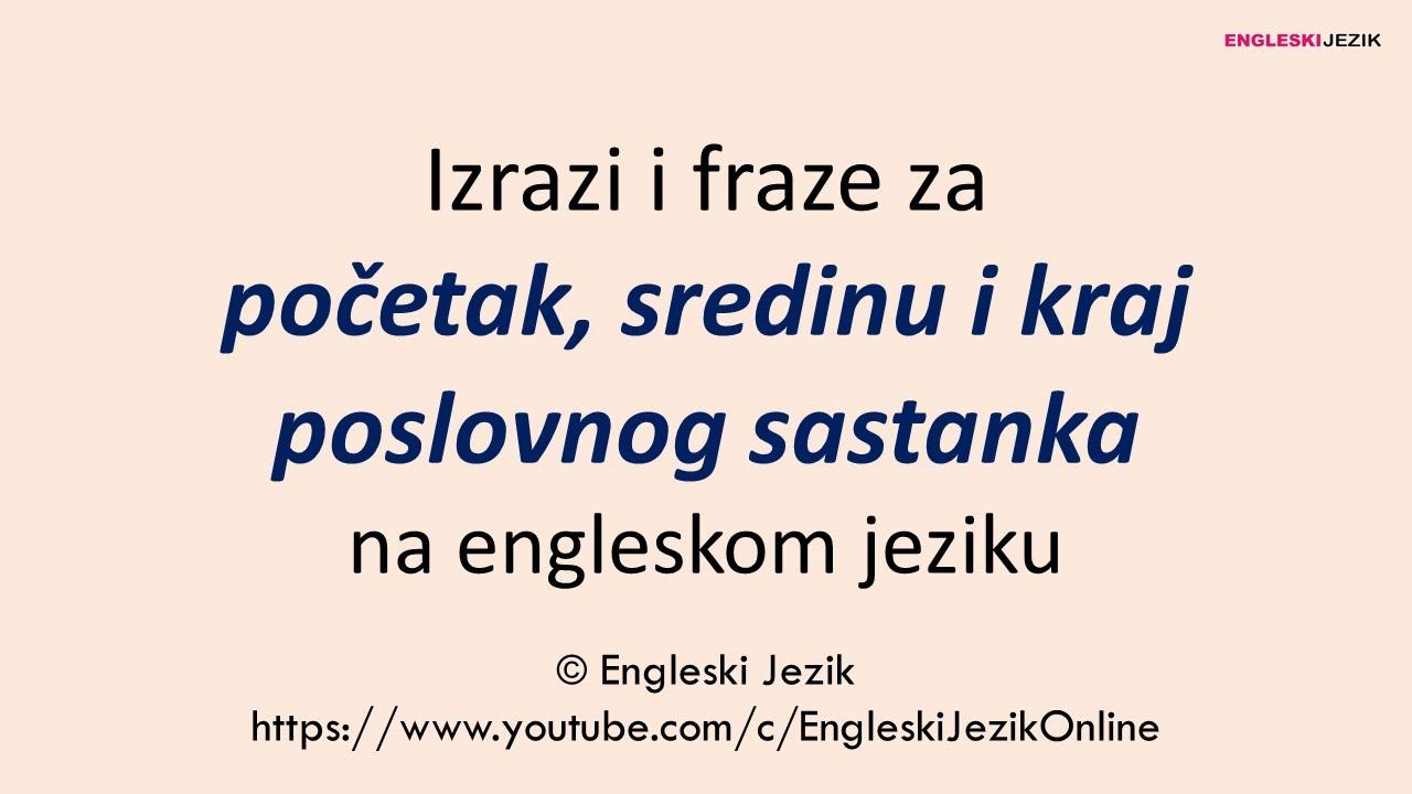 fraze na engleskom