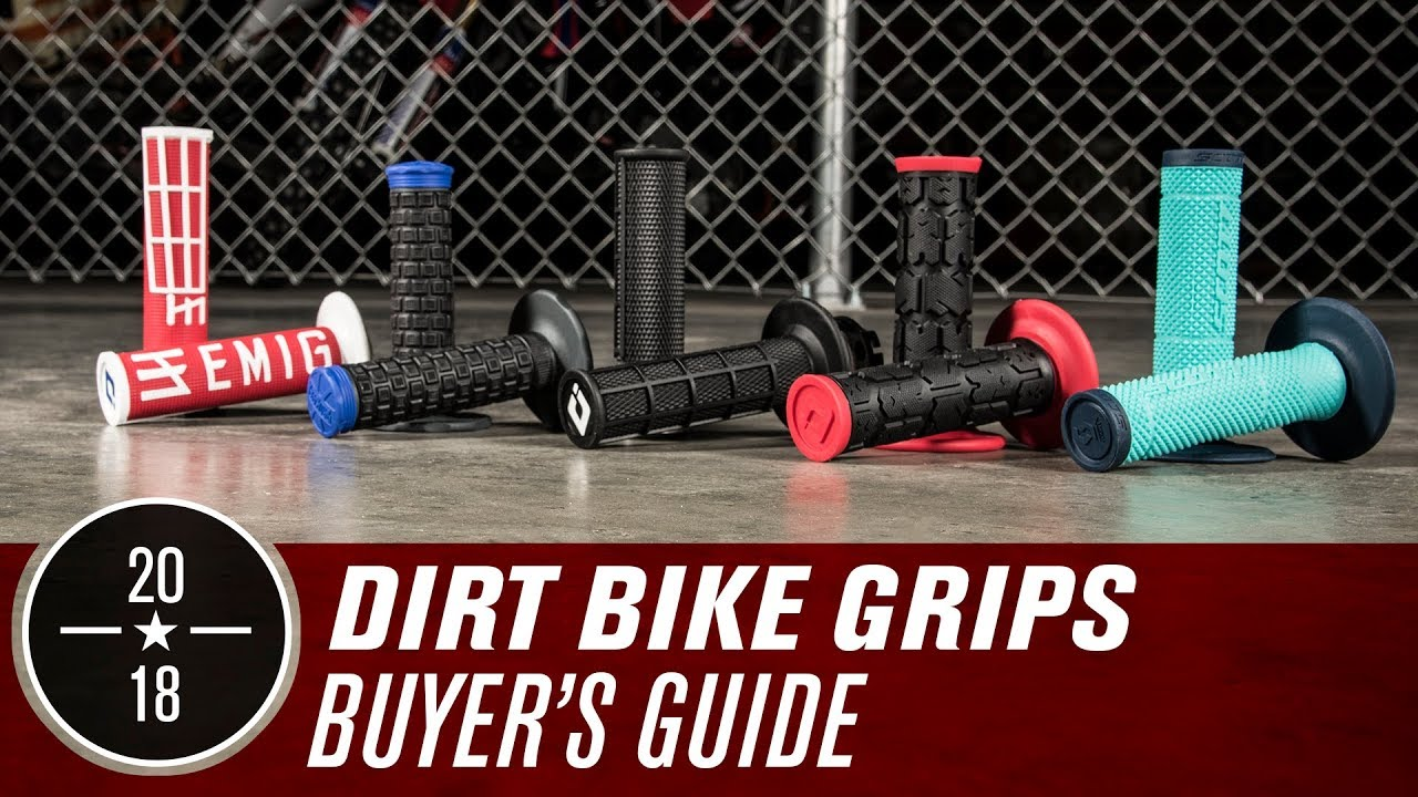 Dirt Bike Grips Buyer S Guide Youtube